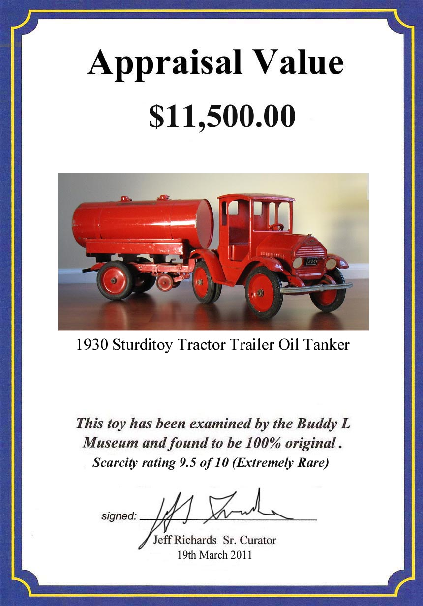1925 Sturditoy Armored Truck For Sale