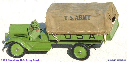 antiuqe toy appraisal sturditoy  u s army truck rocket ship space ship vintage space toys, antique toy prices vintage space toys vintage buddy l prices sturditoy truck tin toy robots rocket ships space ships, sturditoy ambulance appraisals